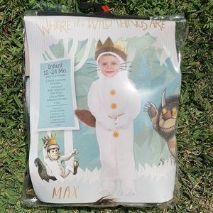 Where the Wild Things Are Costume 12-24 months
